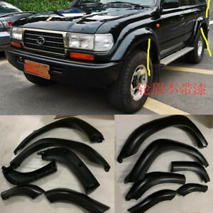 6pcs Wheel Arch Cover For Toyota Land Cruiser 4500 Lc80 Fj80 Fender Flare Kit