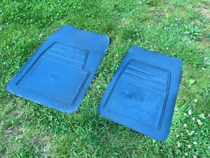 1988 1998 Chevy Suburban Gmc Truck Pickup Blue Floor Mat Set Factory Gm Oem
