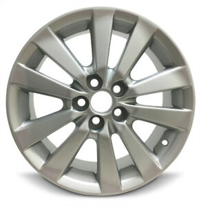 New 4 Pack Rims For 2009 2010 Toyota Corolla 16 Inch Aluminum Rims 5 Lug 100mm
