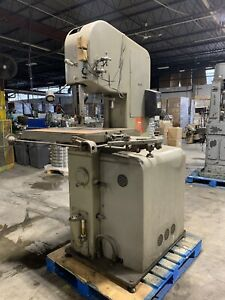 Doall 16 Vertical Metal Band Saw 220v 3 Phase