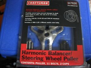 Craftsman 947626 Harmonic Balancer Steering Wheel Puller Made In Usa New Other