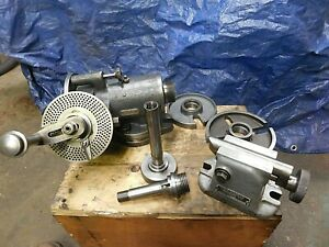 Van Norman 7 5 Dividing Head W access shown Cleaned cycled Ready To Use