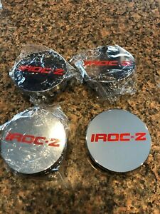 New 1988 1989 1990 Chevrolet Camaro Z 28 Iroc Z Wheel Hub Center Caps Set Of 4