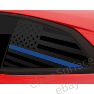 Fits Chevrolet Camaro 2016 2020 Window American Flag Thin Blue Red Line Decal