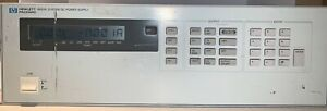 Hewlett Packard 6622a Agilent System Dc Power Supply Variable Output 4x 0 50v