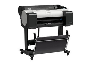New Canon Imageprograf Tm 200 24 Wide large Format 5 Color Printer With Stand