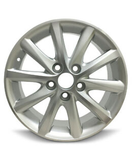 New 4 pack Rims For 10 11 Toyota Camry 16 Inch Aluminum Rims 10 Spokes 5 Lug