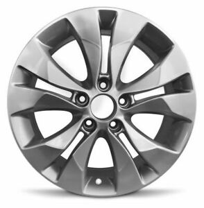 New 4 pack Rims For 2012 2014 Honda Cr v 17 Inch Aluminum Rims Silver 5 Lug