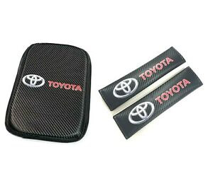 For Toyota Racing Car Center Console Armrest Cushion Mat Pad Cover 11 75 X 8 5