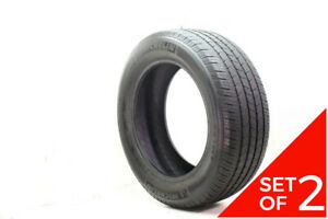 Set Of 2 Used 275 55r20 Michelin Ltx M s2 113h 6 5 7 5 32