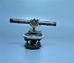 Vintage Transit By Bostrom brady Optical Surveyors Transit Level Scope Brass