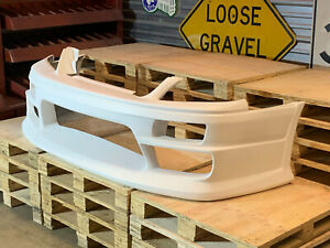 Fiberglass M sports Style Front Bumper For 01 07 Nissan Stagea