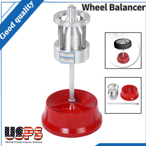 Pro Car Truck Portable Hubs Wheel Tire W Balancer Bubble Level Heavy Duty Rim