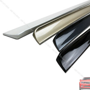 For 2001 2005 Honda Civic 7th Coupe Rear Trunk Lip Spoiler Wing Puf Painted