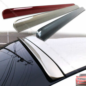 Fit For 2013 Honda Accord Ex l Lx 4dr Sedan Painted Rear Wing Roof Spoiler