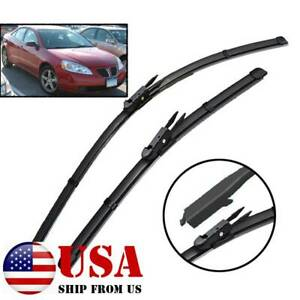Xukey Front Wipers Windshield Wiper Blades For Pontiac G6 2005 2010 24 21