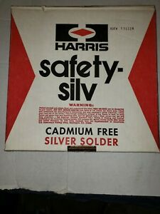 Silver Solder Brazing Wire 30 Silver Harris Safety 30 1 16 Dia 50 Troy Oz