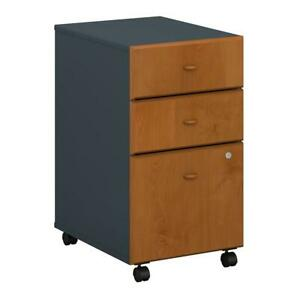 Bush Business Furniture Series A 3 Drawer Mobile File Cabinet Assembled