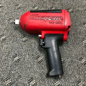 Snap On Mg1250 3 4 Drive Heavy Duty Air Impact Wrench Used Red