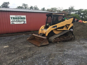 2006 Caterpillar 287b Compact Track Skid Steer Loader W Cab No Door Cheap
