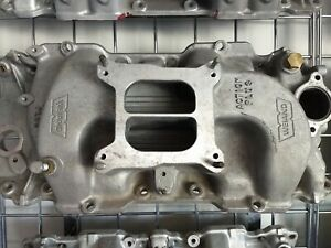 Weiand 8013 Action Plus Big Block Chevy Intake Manifold Bbc 396 402 427 454 Alum