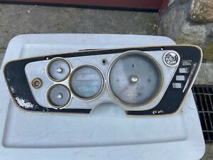 Mopar 1963 Plymouth B Body Fury savoy belvedere Manual Instrument Cluster