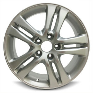 New 4 pack Rims 17x6 5 Inch Aluminum Wheel Rims For 2010 2011 Honda Cr v 5 Lug
