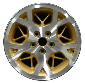 16 Jeep Grand Cherokee 1996 1997 1998 Factory Oem Rim Wheel 9015 Gold