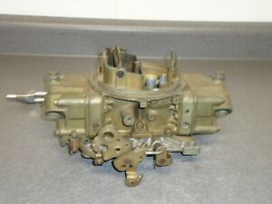 Holley 4150 4 Barrel Carburetor Carb 4776 4 Double Pumper 600 Cfm Manual Choke