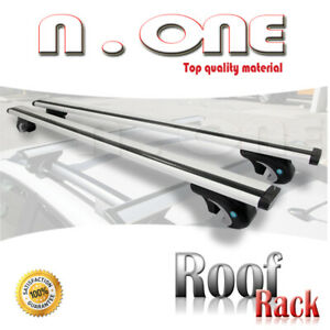 Car Top Roof Rack Aerodynamic Crossbar Luggage Travel Cargo Carrier Fit Jeep