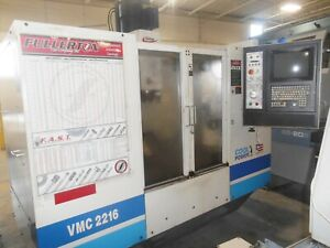 Fadal 2001 Vertical Machining Center Model Vmc2216 Excellent Running Condition