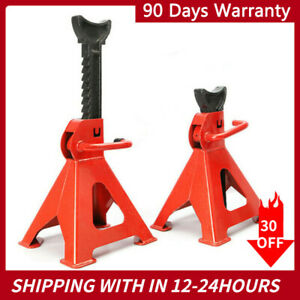 1 Pair Racing Jack Stands 3 Ton 6 000 Lb Heavy Duty For Car Truck Auto