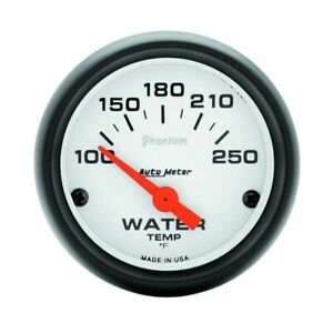 Auto Meter 5737 Phantom 2 1 16 Electric Water Temp Gauge