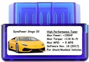 Stage 20 Tuner Chip Power Performance Add 195 Hp 5 Mpg Ford