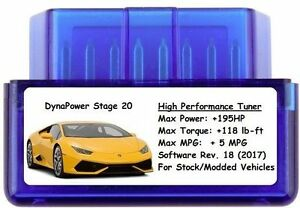Stage 20 Tuner Chip Power Performance Add 195 Hp 5 Mpg Toyota