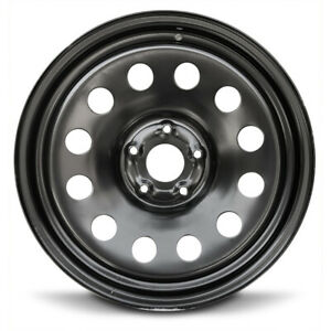 New 4 pack Rims 20x8 Inch Steel Wheel Rims 2002 2008 Dodge Ram 1500 5 Lug Black