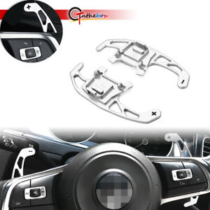 For 2016 19 Vw Jetta Gli R Line Steering Wheel Shift Paddle Dsg Extension Cover