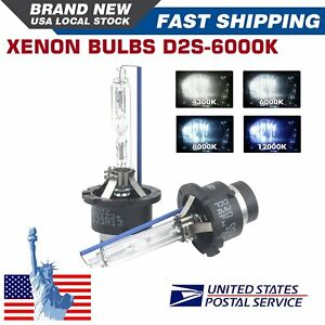 2x D2s 35w 6000k Hid Xenon Replacement Low High Beam Headlight Lamp Bulbs White