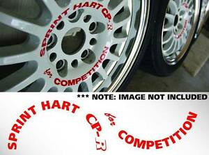 15 Sprint Hart Cp r set Of 5 For Competition Decals Sticker Jdm Rota Track R