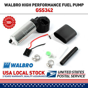 Walbro Ti Gss342 Gss341 255lph High Pressure Racing Intank Fuel Pump Ship In Usa