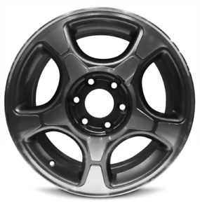New 4 pack Rims 17 Inch Aluminum Wheel Rims 04 09 Chevrolet Trailblazer 6 Lug