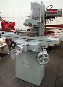 Mitsui 6 x18 Manual Surface Grinder 205mh W Dro Permanent Magnetic Chuck