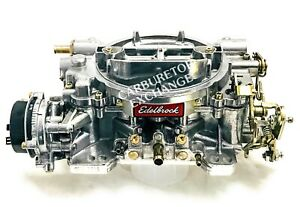 1403 Edelbrock Carburetor 500 Cfm Electric Choke