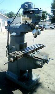 Bridgeport Mill Mv 315_s n 12 br 51397_great Deal_first Come First Served