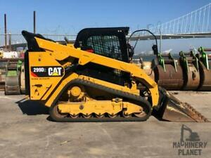 2018 Cat 299d2 Two speed High flow