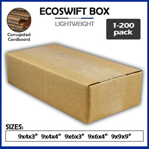 9 Corrugated Cardboard Boxes Shipping Supplies Mailing Moving Choose 5 Sizes