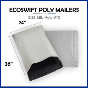 1 24x36 Ecoswift Poly Mailers Large Plastic Envelopes Shipping Bags 2 35mil