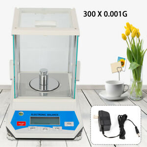 Analytical Balance Laboratory Scale 300g X 0 001g Precision Electronic Scale Us