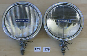 Carello Driving Fog Lights Pair Hella Cibie Marchal