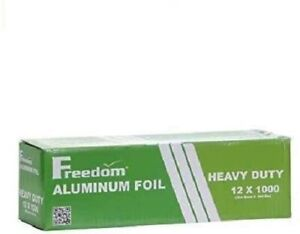 Heavy Duty Aluminum Foil Wrap 1000ft For Food Service Industry 12 Inches 1 box